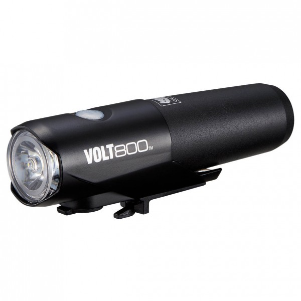 CatEye - Helmlampe Volt800 HL-EL471RC inkl. Helmhalterung