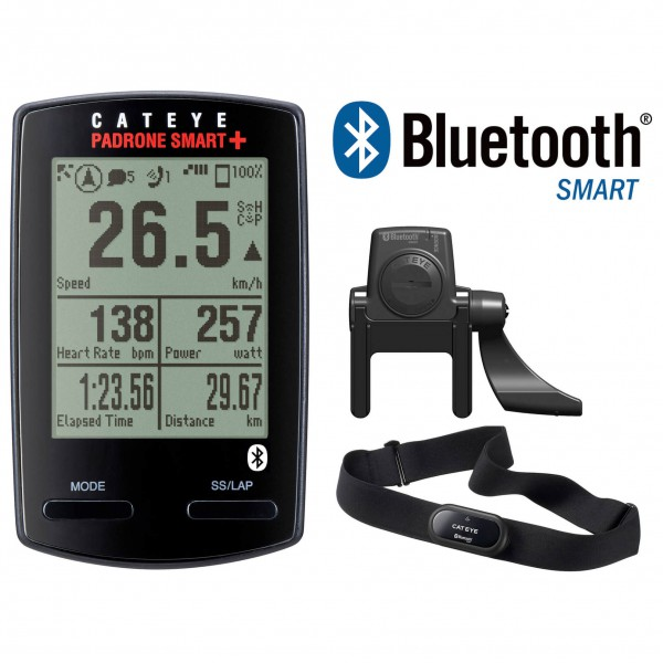 CatEye - Padrone Smart+ CC-SC100B - Fahrradcomputer