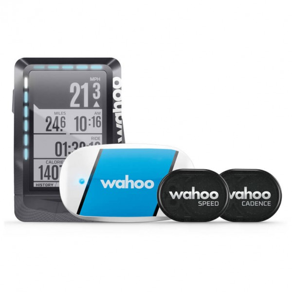 Wahoo - Elemnt GPS Bundle, Inkl. Tickr, Rpm Speed/Cadence
