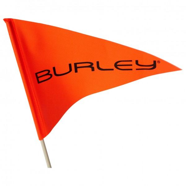 Burley - Sicherheitsflagge 2teilig mit Logo - Fietsaanhanger