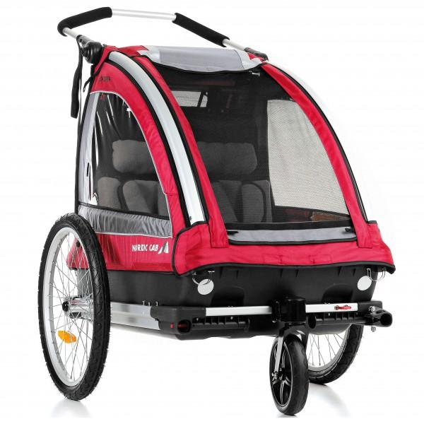 Nordic Cab - Kinderanhänger Explorer 2-1 inkl. Walking Set