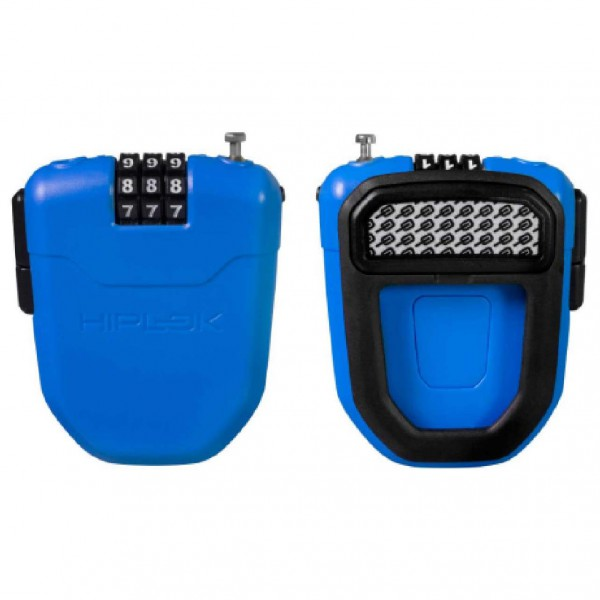Hiplok - FX Wearable Retractable Combi Lock incl. Reflector - Cykellås