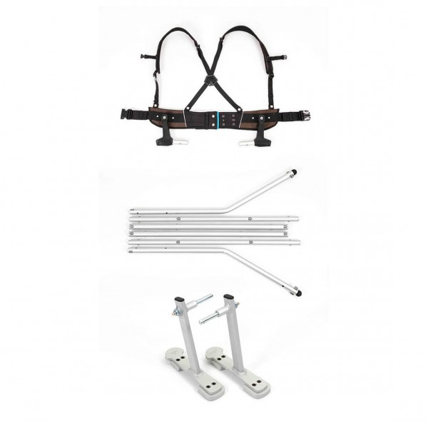 Croozer - Ski-Adapter-Set - Child trailer accessories
