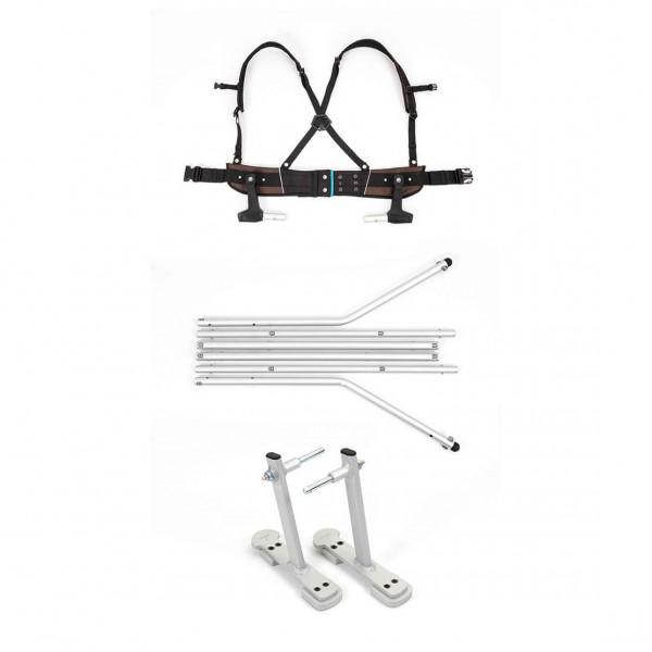 Croozer - Ski-Adapter-Set - Sykkelvogn-tilbehør for barn