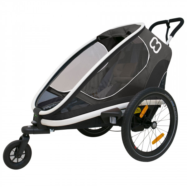 Hamax - Outback One w/ Bicycle Arm & Stroller Wheel Recl. - Kinderfietskar