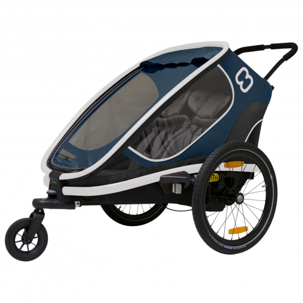 Hamax - Outback w/ Bicycle Arm & Stroller Wheel Reclining - Child trailer