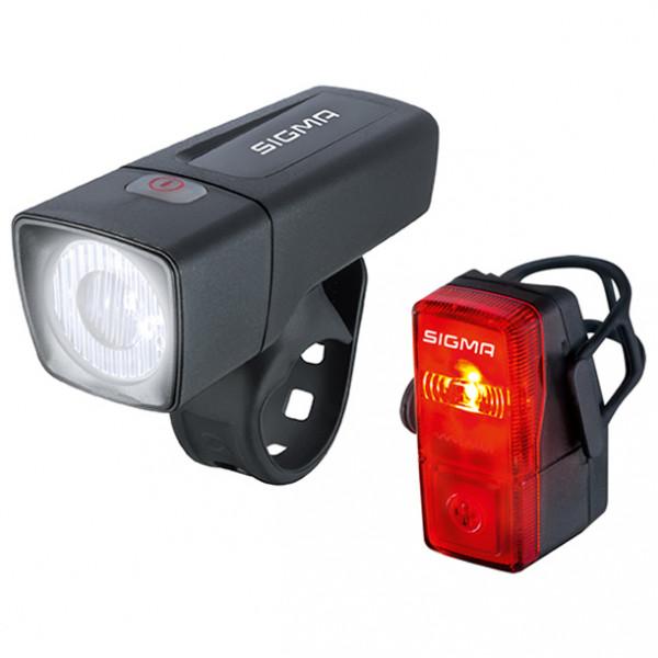 Sigma - Aura 25 K-Set - Fahrradlampen-Set