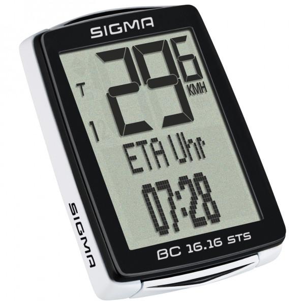 Sigma - BC 16.16 STS Cad - Ciclocomputador