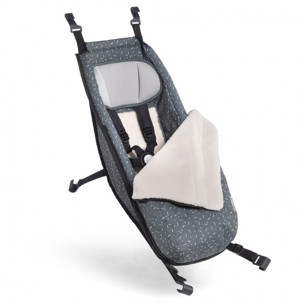Croozer - Siège bébé avec kit d'hiver