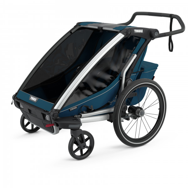 Thule - Chariot Cross 2 - Polkupyörän lapsiperäkärryt