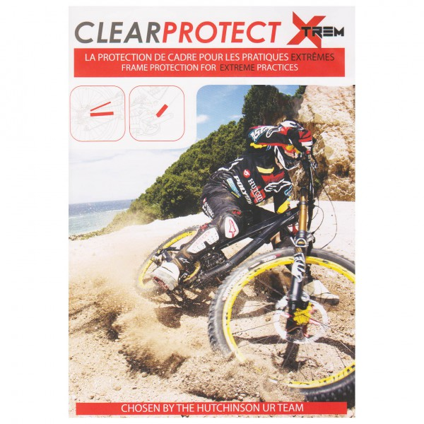 Clearprotect - Safety Sticker Frame Pack Xtreme DH (4-Pack)