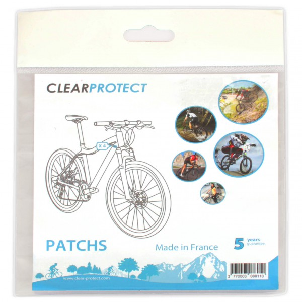 Clearprotect - Safety sticker 45x25mm 4-Pack - Rahmenzubehör