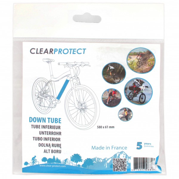 Clearprotect - Safety sticker down tube - Frame accessories