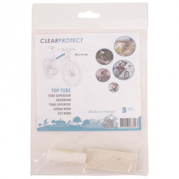 Clearprotect - Safety sticker top tube