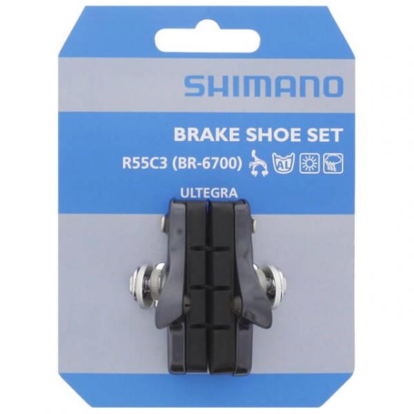 Shimano - Bremsschuh R55C3 BR-6700 - Rim brake accessories