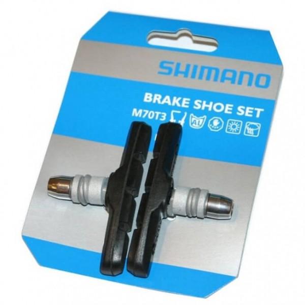 Shimano - Bremsbelag V-Brake M70T3 Geschraubt
