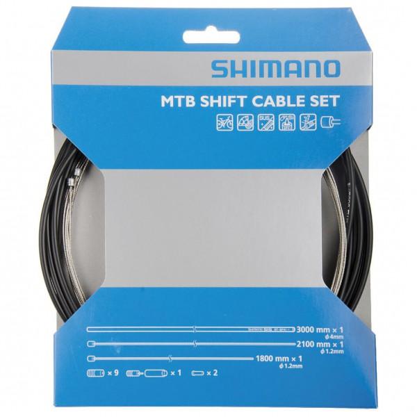 Shimano - Schaltzugset MTB - Fælgbremse-tilbehør