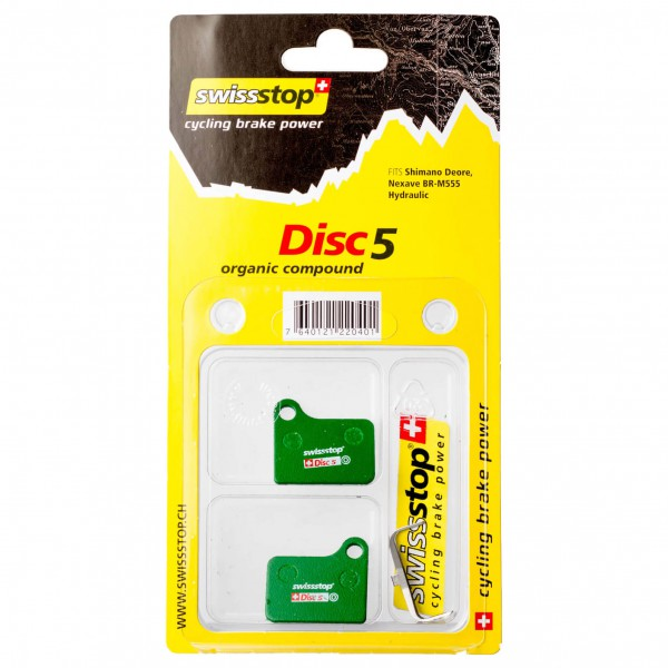 SwissStop - Belag Shimano Disc5 - Levyjarrutarvikkeet - Levyjarru