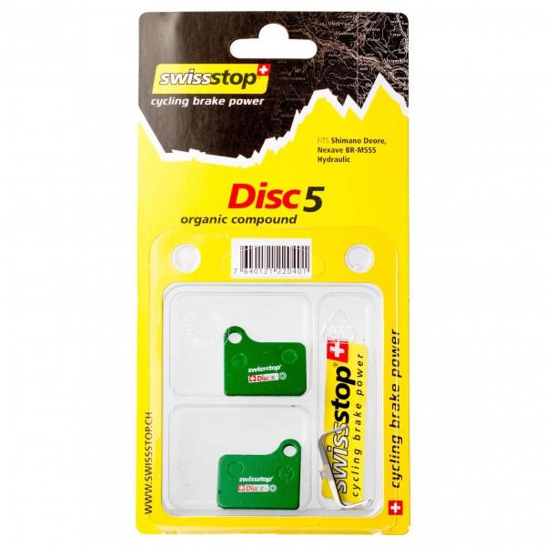 SwissStop - Belag Shimano Disc5 - Schijfremmen