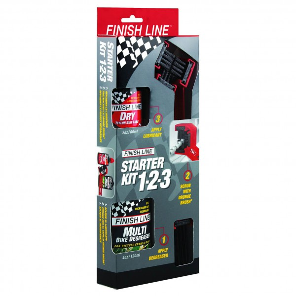Finish Line - Starter Kit 1-2-3 Grungebrush Combo 2 - Pack