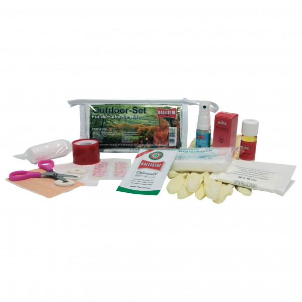 Ballistol - Outdoor-Set 13-piece - First aid kit
