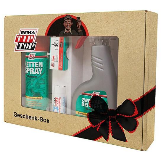 Tip Top - Geschenkbox 4-Teilig - Polkupyörän hoito