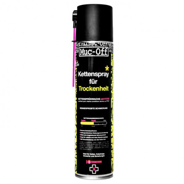 Muc Off - Dry PTFE Chain Lube - Huile pour chaîne