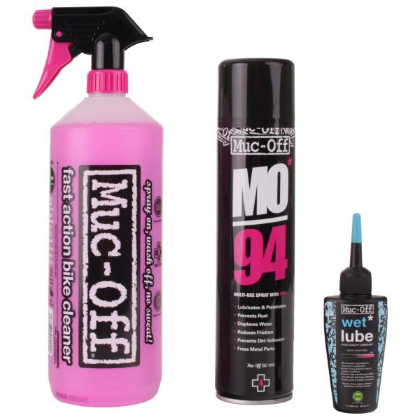 Muc Off - Wash & Lube Kit - Set de nettoyage
