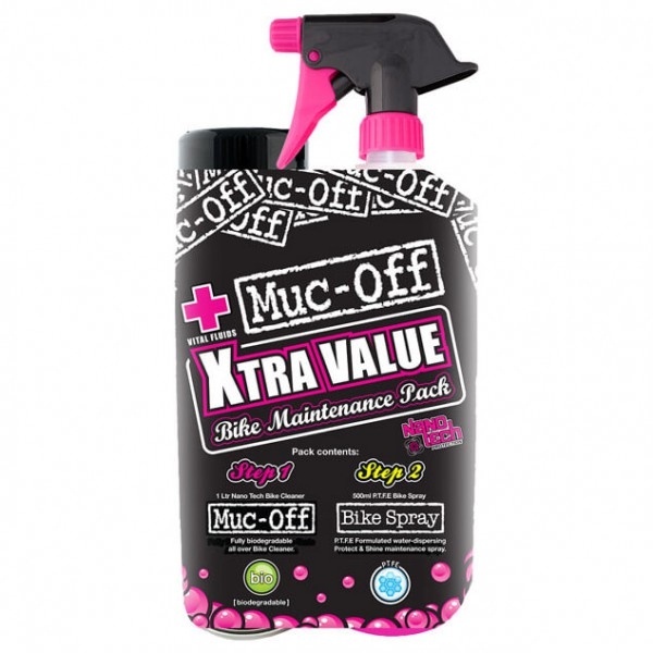 Muc Off - X-Tra Value Duo Pack - Puhdistussetti