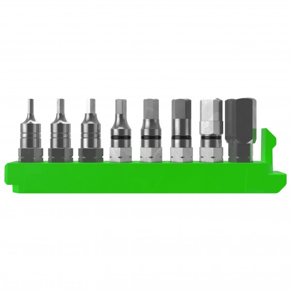 Scott - Syncros Greenslide Spare Bit 8Pc Set HEX - Cykelværktøj