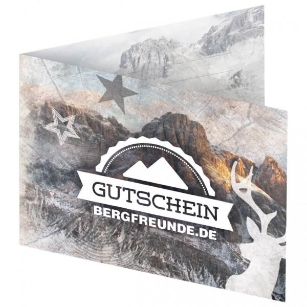 Bergfreunde.de - Weihnachts-Gutschein