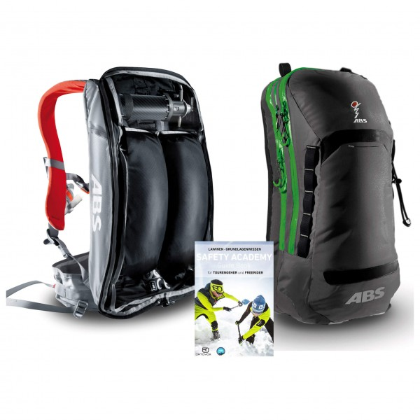 ABS - Lawinenrucksack-Set - Vario Silver ED&Vario Zip-On 15