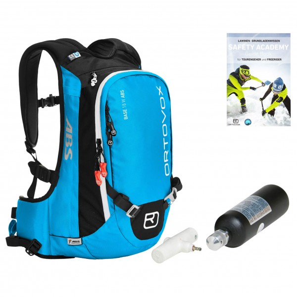 Ortovox - Avalanche backpack set - Women's Base 18 ABS ST