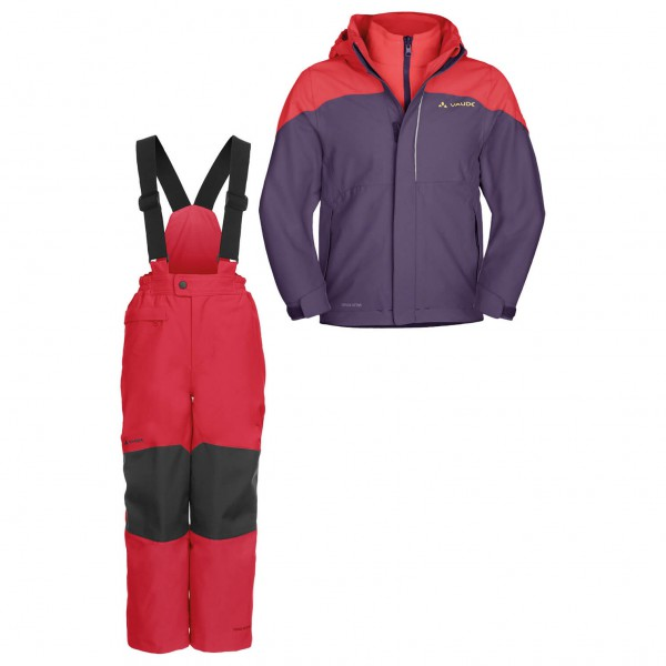 Vaude - Kids set - Kids Little Champion & Snow Cup Pants II