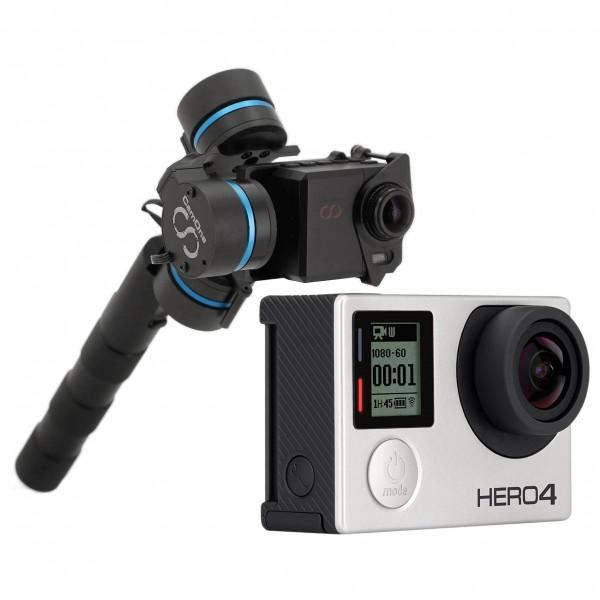 GoPro - Kamera-Set - Hero4 Silver & Handgimbal