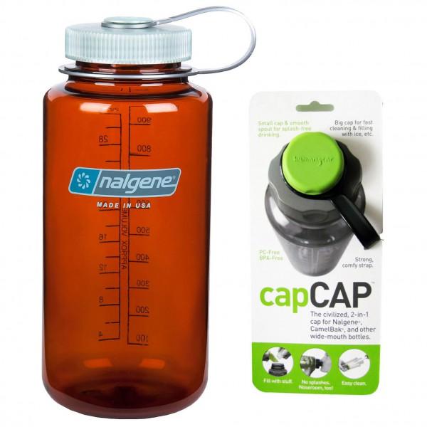 Nalgene - Trinkflaschen-Set - Everyday Weithals 1,0L +CapCap - Drikkeflaske