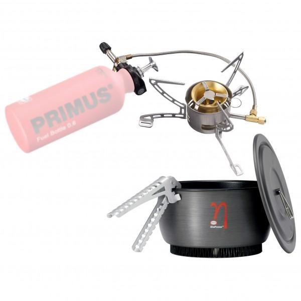 Primus - Jeu de casseroles - Réchaud multicombustibles Multi