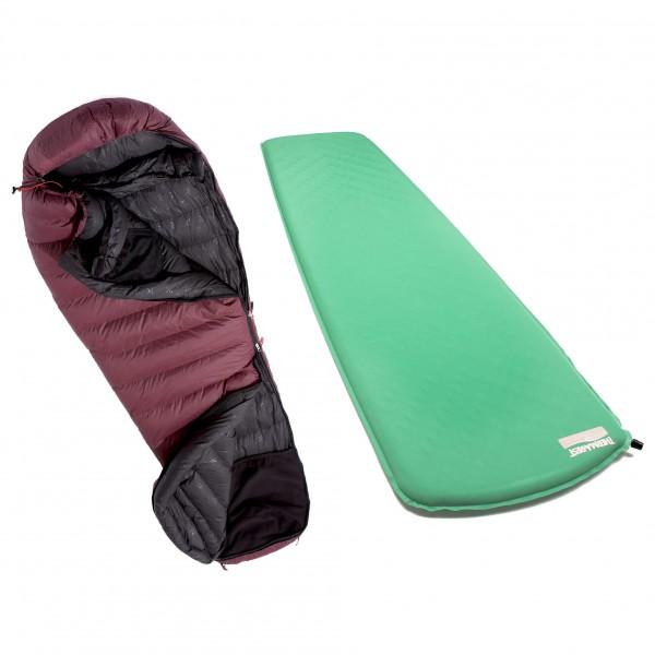 Yeti - Sleeping bag set - Womens Sunrizer 600 - TrailLite Pl