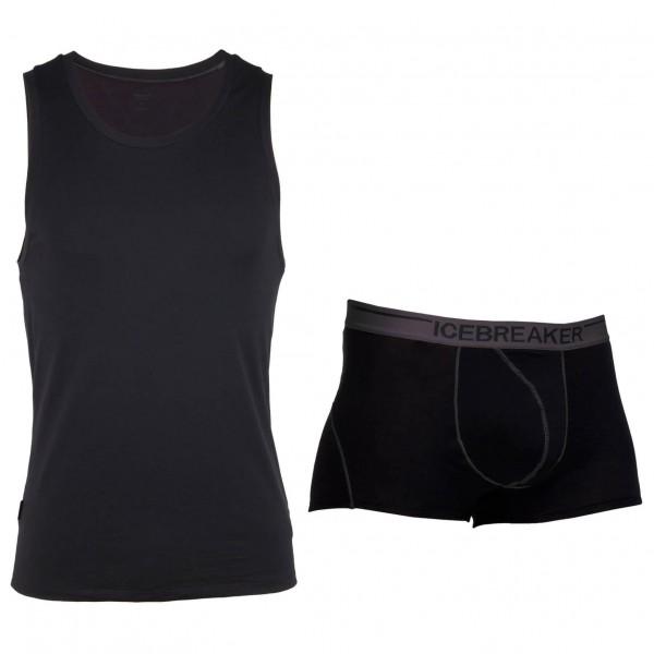 Icebreaker - Merino underwear set - Anatomica Tank & Boxers