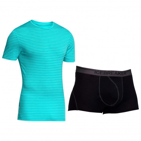Icebreaker - Merino underwear set - Anatomica SS & Boxers