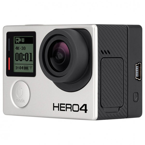 GoPro - Kamera-Set - Hero4 Black & Battery Bacpac - Cámara