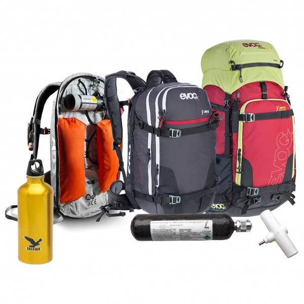 ABS - Avalanche backpack set - Vario BU&Evoc Patrol Team&Gui