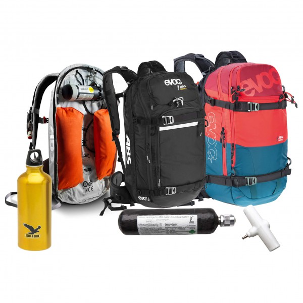 ABS - Avalanche backpack set - Vario BU & Evoc Pro&Guide Tea