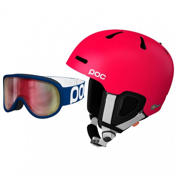 POC - Ski-Helm-Brillen-Set - Fornix & Retina - Skidhjälm