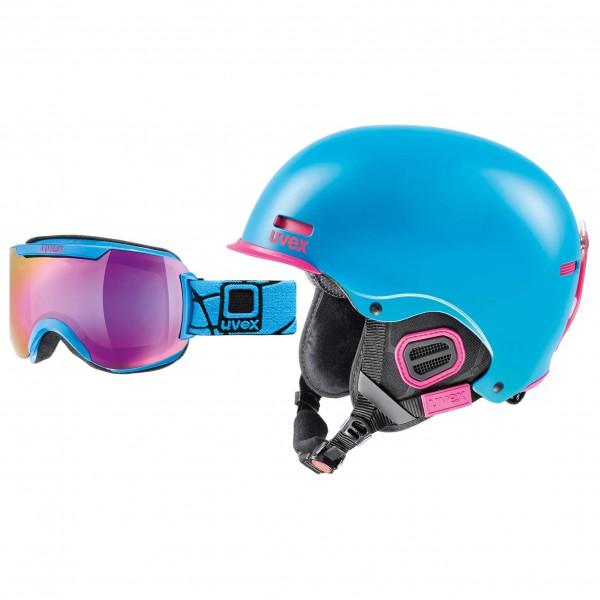 Uvex - Ski-Helm-Brillen-Set - HLMT 5 Pro & Downhill 2000