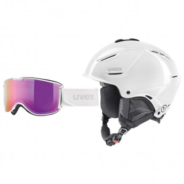 Uvex - Ski-Helm-Brillen-Set - p1us & Skyper LTM - Laskettelukypärä
