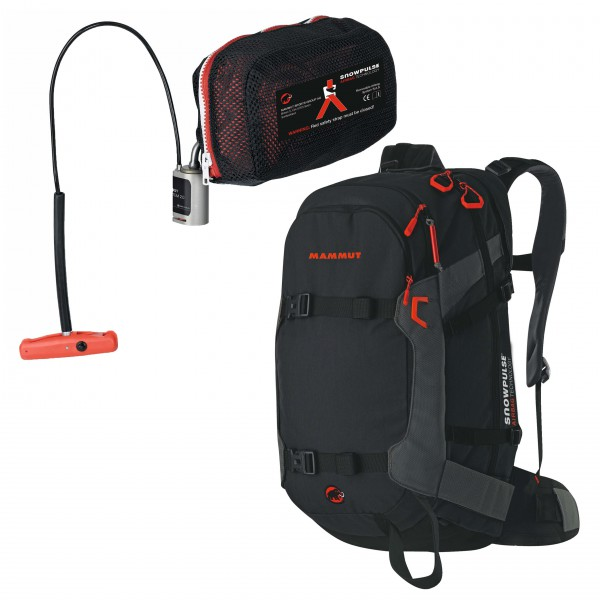 Mammut - Avalanche backpack set - Ride Rem. Airbag Ready&R.A