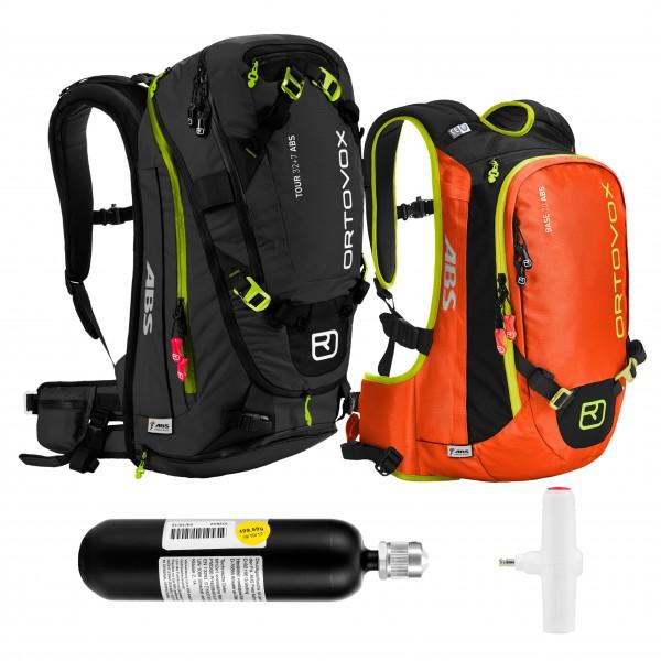 Ortovox - Tour 32+7 & Base 20 ST - Avalanche airbag set