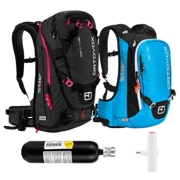 Ortovox - Tour 32+7 W & Base 18 ST - Avalanche airbag set