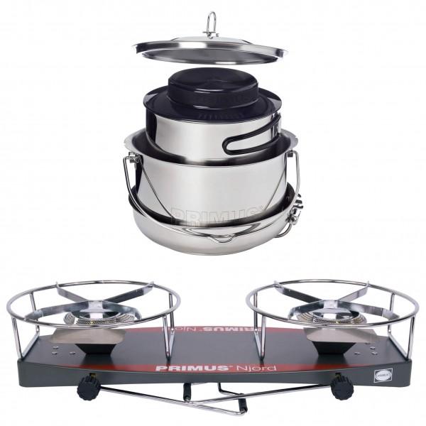 Primus - Jeu de casseroles - Njord Stove - Gourmet De Luxe S